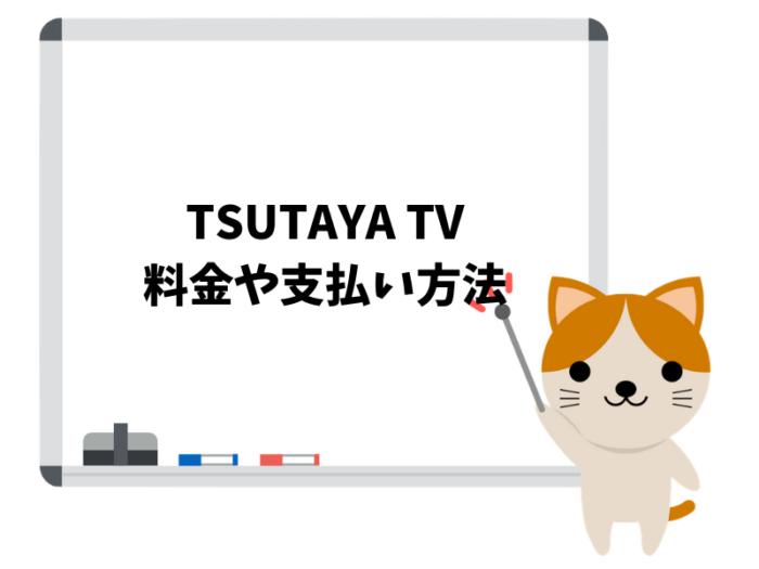 TSUTAYA TVの基本情報!料金や無料トライアル期間について