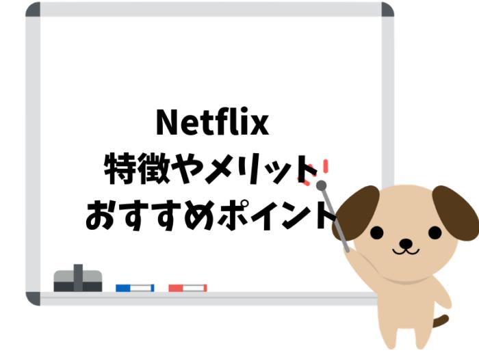 Netflixの特徴やメリットがこんなに!おすすめポイント10選!