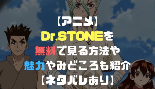 アニメ「Dr.STONE(ドクターストーン)」を無料で見る方法は?魅力や見どころも紹介【ネタバレあり】